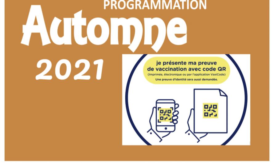 Automne 2021 – Ç'est parti !!